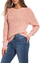 Women's Free People Electric City Pullover Sweater - Red