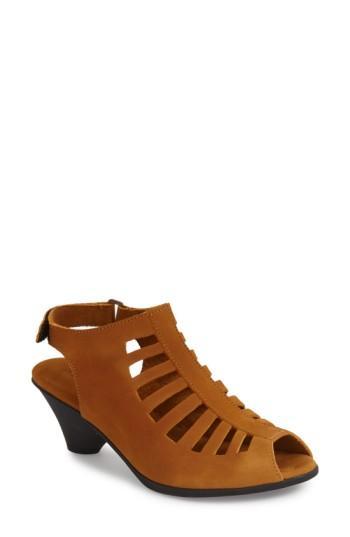 Women's Arche 'exor' Sandal Us / 38eu - Brown