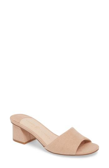 Women's Chinese Laundry My Girl Slide Sandal .5 M - Beige