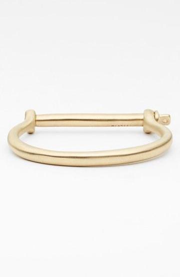 Miansai Brass Screw Cuff Bracelet