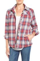 Women's Velvet By Graham & Spencer Plaid Shirt Jacket