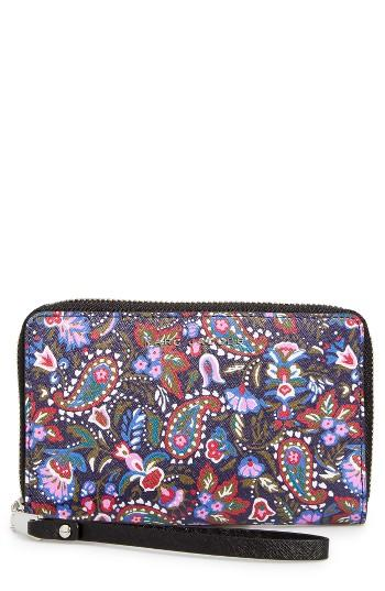 Women's Marc Jacobs Garden Paisley Phone Wallet -