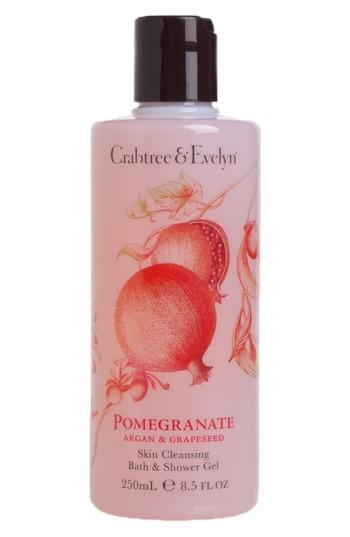 Crabtree & Evelyn 'pomegranate, Argan & Grapeseed' Skin Cleansing Bath & Shower Gel .5 Oz