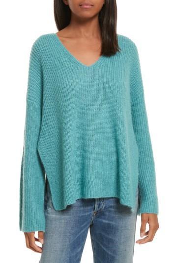 Women's Rebecca Minkoff Remi Oversize Sweater, Size - Blue