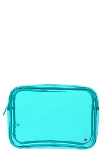 Stephanie Johnson Miami Jumbo Zip Cosmetics Case, Size - Miami Blue