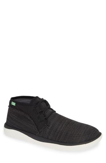 Men's Sanuk What A Tripper Chukka Sneaker M - Black