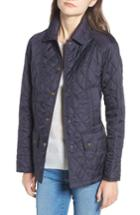 Women's Barbour 'beadnell - Summer' Quilted Jacket Us / 10 Uk - Blue