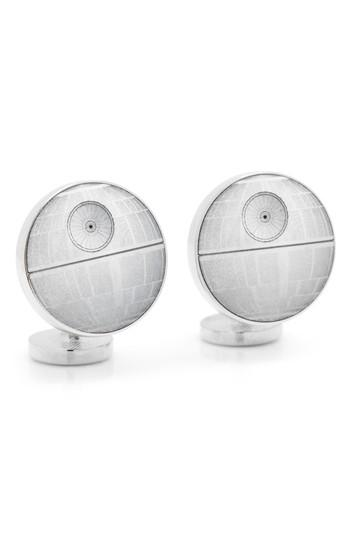 Men's Cufflinks, Inc. 'star Wars(tm) - Death Star Blueprint' Cuff Links