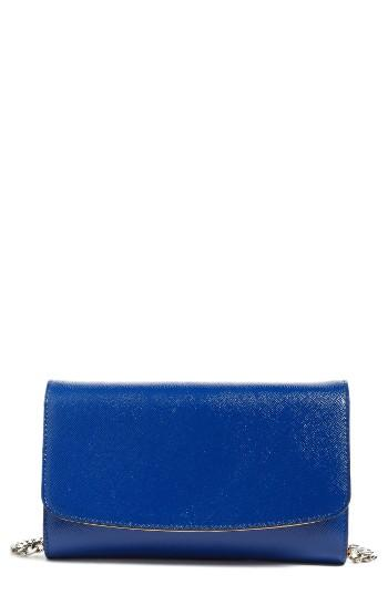 Women's Halogen Wallet On A Chain - Blue