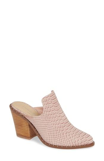 Women's Chinese Laundry Springfield Mule Bootie M - Pink