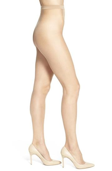 Women's Wolford Naked 8 Pantyhose - Beige