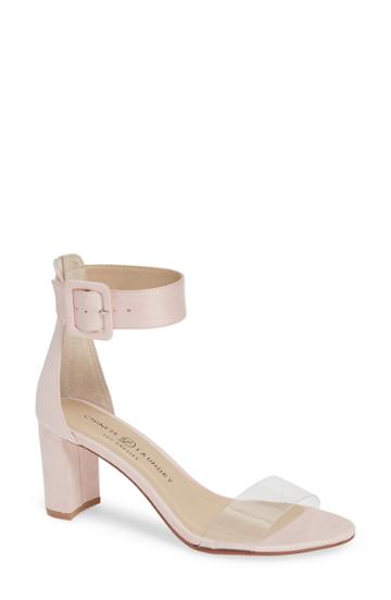 Women's Chinese Laundry Reggie Ankle Strap Sandal M - Pink