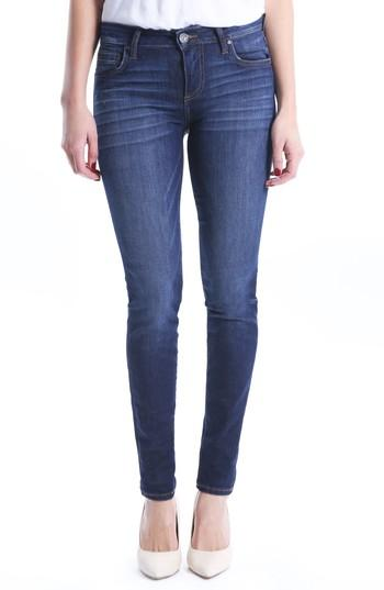 Petite Women's Kut From The Kloth Diana Skinny Jeans P - Blue