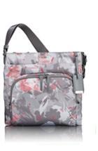 Tumi 'voyageur - Capri' Nylon Crossbody Bag - Grey