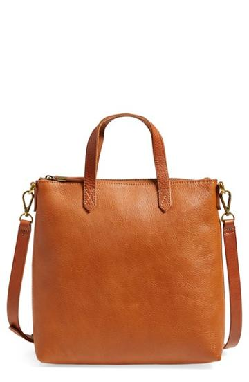 Madewell 'mini Transport' Crossbody Bag - Brown