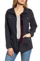 Women's Steve Madden Embellished Utility Jacket - Blue