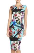 Women's Eci Print Pique Sheath Dress