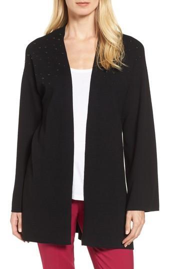 Women's Chaus Long Sleeve Beaded Cardigan