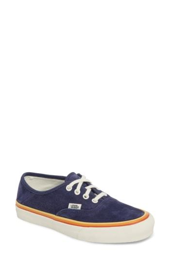 Women's Vans Authentic Sf Sneaker M - Blue