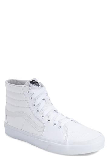 Men's Vans 'sk8-hi' Sneaker M - White
