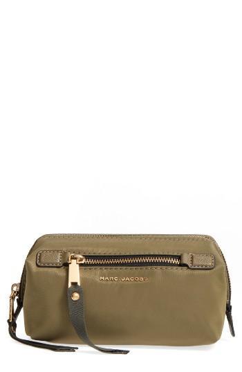Marc Jacobs Big Bliz Cosmetics Case, Size - Army Green