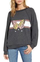 Women's Wildfox Sommers Papillion Sweatshirt