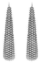 Women's Lagos Signature Caviar Linear Earrings