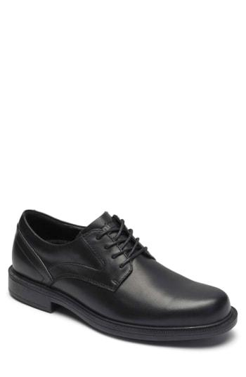 Men's Dunham Jericho Plain Toe Derby D - Black