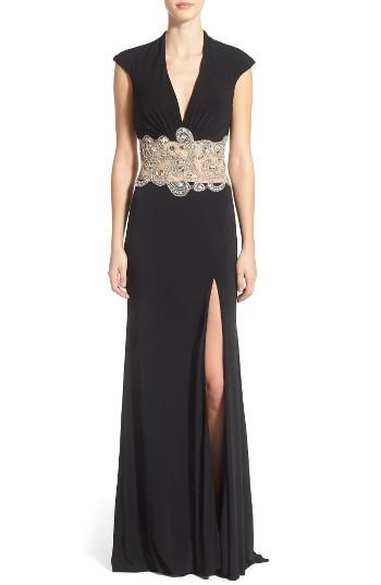 Women's Mac Duggal Embellished Gown