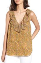 Women's Rebecca Minkoff Carlisle Top, Size - Yellow