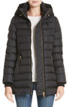 Women's Burberry Limefield Hooded Puffer Coat - Black