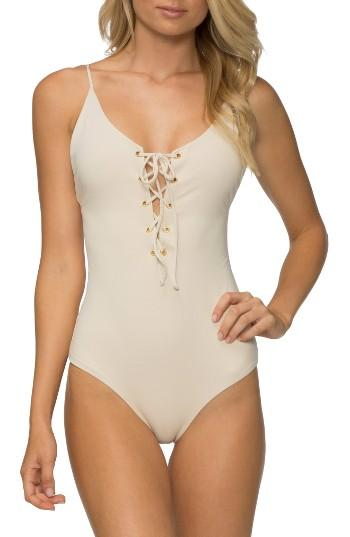 Women's Tavik Monahan One-piece Swimsuit - Ivory