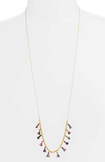 Women's Gorjana Havana Tassel Adjustable Necklace