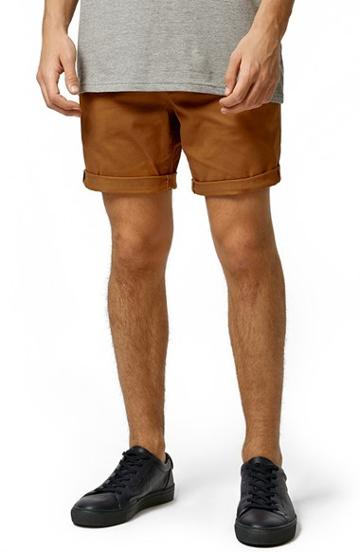 Men's Topman Chino Shorts - Yellow