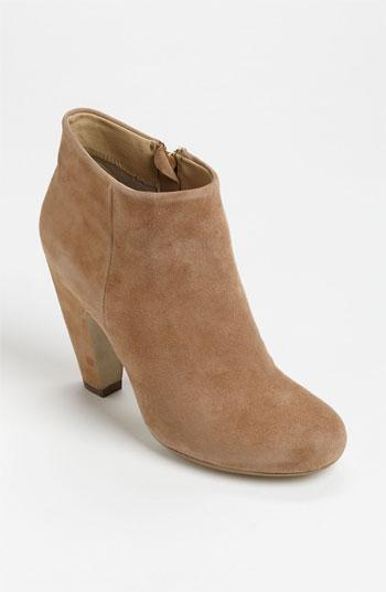 Steve Madden 'panelope' Bootie Womens Taupe Suede