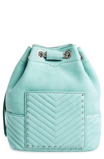 Rebecca Minkoff Becky Convertible Leather Backpack - Green