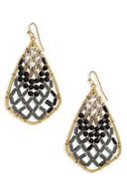 Women's Nakamol Design Beaded Drop Earrings