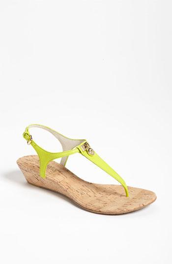 Michael Michael Kors 'hamilton' Sandal Lime