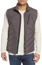 Men's Spyder Syrround Down Vest, Size - Grey