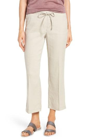 Women's Nydj Jamie Relaxed Ankle Flared Pants - Grey
