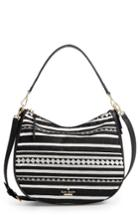 Kate Spade New York Jackson Street Embroidered Mylie Hobo - Black