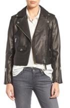 Women's Mackage Leather Moto Jacket