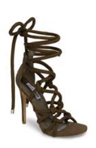 Women's Steve Madden Dream Ankle Tie Sandal M - Green