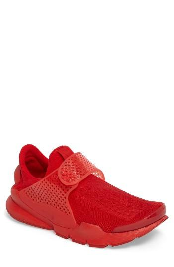 Men's Nike Sock Dart Sneaker M - Red
