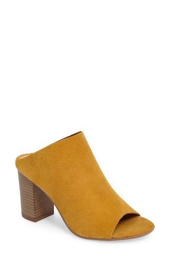 Women's Bos. & Co. Isabella Block Heel Mule .5-6us / 36eu - Yellow
