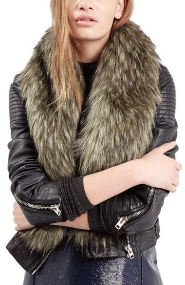 Women's Topshop Faux Coyote