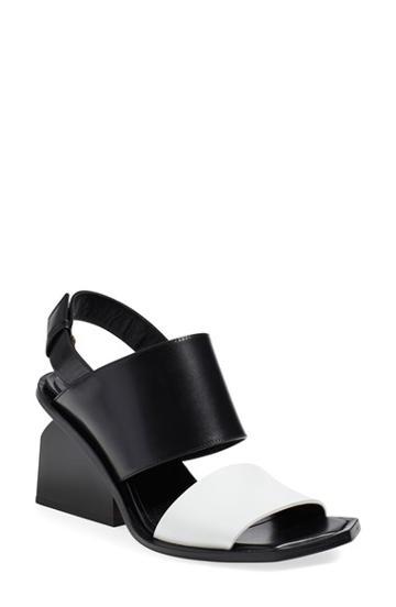 Women's Marni Block Heel Sandal Eu - Black