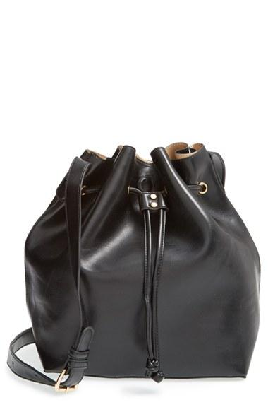Women's Sole Society 'nevin' Faux Leather Drawstring Bucket
