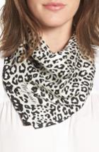 Women's Marc Jacobs Leopard Print Silk Scarf