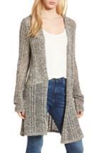 Women's Splendid Knox Hooded Cardigan - Grey